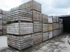 Twenty five various potato boxes - to include contents of soil, as lotted (Please Note: Purchaser