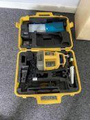 Topcon RL-VH3G rotating head laser level in case