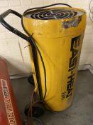 Easy heat 280 propane space heater on trolley