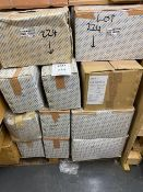 Pallet containing approx 25 boxes of 2mm to 6mm frame packers