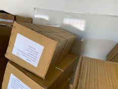 Ten various Kashmir Willow indoor cricket bats c/w carry case size 6 BOXED