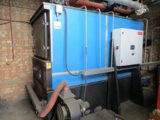 RAN Heat Bio Mass Furnace s/n B600-03-01 (2008) (3 Phase) cap 600Kw 5000 litre c/w control