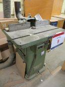 Wadkin & Bursgreen spindle moulder s/n BER1-67552 complete with extraction funnel (3 Phase)
