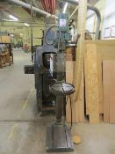 Buck & Hickman pillar drill slotted table type E100SL s/n 176250 (3 Phase)