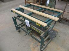 Panelmate PB3 240Kg pump action mobile tilting work table (2003) s/n 037