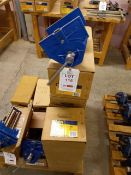 Five Irwin Record 230mm quick release woodworking vices