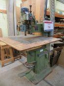 Aldolf Aldinger Himmerwerk table pillar drill Type 207/14/2 Serial No. 55817 (3 Phase) c/w