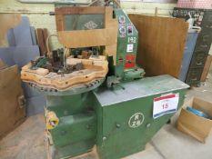 Rye R28 rotary shaper centauro auto copy shaper m/c no 361 (3 Phase) c/w associated tooling &