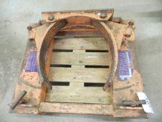 Eonard fork lift truck barrel attachment * current LOLER till 7/1/22