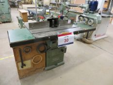 Wadkin Bursgreen Spindle moulder type BER2 88450 c/w Holtz Herr type ET117 power feed (3 Phase)