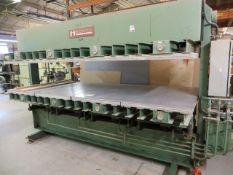 Interwood FHU laminate press Serial No. 415 (1988) (3 Phase)