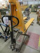 Geprutte Sicherheit high lift 1000Kg hand pallet truck (2001) s/n 608260 *current LOLER till 7/7/22