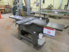 A Crooksley & Co table planer type BB 400v s/n 34319 (3 Phase)