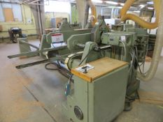 Celaschi type TSA200 Tenoner (3 Phase) (approx. 2.8m wide) with power control unit c/w workbench,