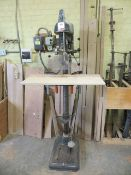 Hogarth pedestal drilling machine 400v Serial No. 5381 (3 Phase)