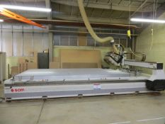 SCM Accord 20 multihead cutting system 4.25x2.25m table CNC control with power cabinet hand held