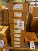 Eighty-seven Emir 200mm marking gauges (10 per full box)
