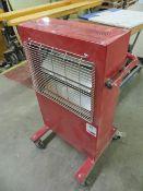 Prem-i-air halogen garage heater 240v 3Kw