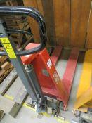 Climax high lift 1000Kg hand pallet truck type HIOM (2007) s/n 200707060613 *current LOLER till 7/
