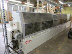 SCM Olympic S 1000 edge banding machine s/n AH/115561 (2011) (3 Phase) c/w qty of edge strips as