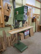 Strands pedestal column drill S30 Aktiebolaget Serial No. 836689 c/w height adjustable table (3