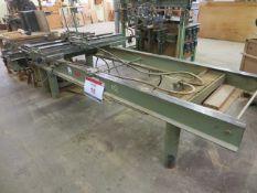Schubert pneumatic clamping machine s/n 4358 (3 Phase)
