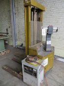 Crown 40WT Electric Pallet Stacker 4000Lb Capacity s/n W16189 c/w Westinghouse SV12/25 Charger &