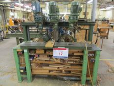 Rye triple vertical and triple horizontal drilling station (3 Phase) s/n 323/1819/1907
