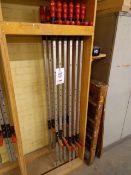 Twelve Wurth Superspanner 1600mm sash clamps
