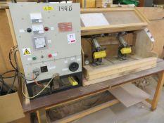 Unknown bespoke built thermal bonder with RF Generator type 1.5-13 s/n 3195 240V
