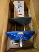 Four Axminster plain screw 175mm woodworkers vices