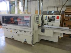 Celaschi Superset nt automatic through feed moulder machine centre Serial No. AA2/001241 (2010) (3