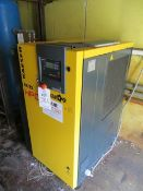 Kaeser SK22 HPC Screw Compressor (2017) s/n 2389 11Kw Rated Power 2960/1/Min 1737 recorded hours (