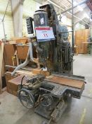 Brookman chain mortice cutting machine Serial No. 6095 (3 Phase) c/w associated tooling as lotted