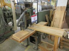 Dominion Chain Morticer (3 Phase) with bespoke wood table