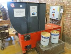 Weima WL4 Chipper s/n 500-9523 (2010) (3 Phase) c/w control system 3725 recorded hours