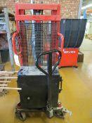 Lift Mate VVE 1000/2500 power pedestrian stacker max load 1000Kg (2002) with current LOLER till 7/1