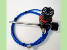 Spirax Monnier IR1M 3.5 bar compressed air regulator for general purpose pneumatic systems. (