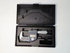 Mitutoyo Digital Micrometer 0-1inch, 293-832. (WA13179)