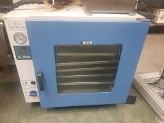Vacuum Drying Oven, DZF-6125 complete with operating manual