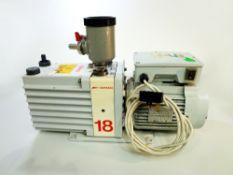 E2M18 Oil Sealed Rotary Vacuum Pump.(WA13710)