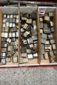 Three boxes and contents to incl. various thread cutter dies (Recommended collection period for this