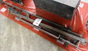Seven assorted sash clamps (Recommended collection period for this lot Wednesday 15th - Friday