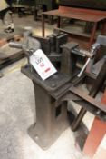 Heavy duty hand operated straight plate folder on stand, ref no. 2069 (Recommended collection period