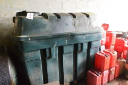 Titan BT1150 litre bunded plastic fuel tank (Recommended collection period for this lot Wednesday
