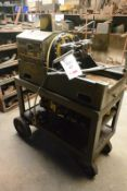 """Oster Pipe Master 655 2"""" pipe conduit And bolt portable threading machine, serial no. ACD3470 with"""