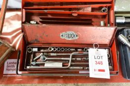 Socket set, part of (Recommended collection period for this lot Wednesday 15th - Friday 17th