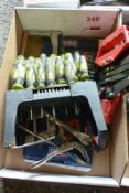 Assorted hand tools (Recommended collection period for this lot Wednesday 15th - Friday 17th