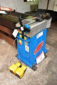 Ercolina hydraulic 'Top' table bender, model TB76-V2T, serial no. 3307044 (2007), wander foot