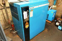 Compair Broomwade 6000E packaged rotary screw air compressor set, model 6015e (Beware - this